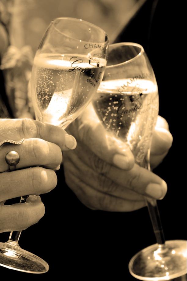Flûtes de Champagne Gantois-Louvet